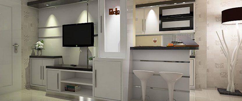 Desain Interior Minimalis dengan Warna Putih